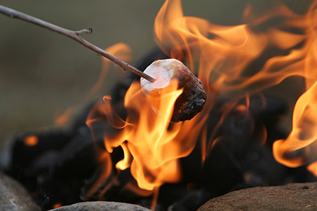 Marshmallows Fire